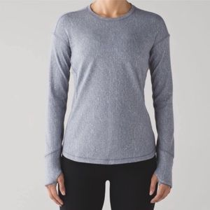 Reflective lululemon long sleeve - FINAL SALE